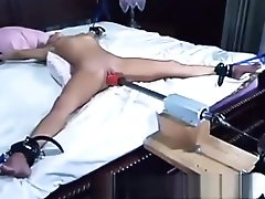 Kylie Wilde Machine Fucked Tied Up Naked