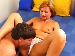 Incredible Milf Ilona Seduces Young Lover
