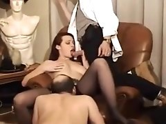 Kinky Classics - Females Fist, Foot And Piss On Lucky Guy
