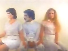 Crazy Facial Retro Clip With Donna Ferguson And Ron Jeremy