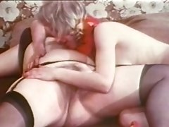 Big Mama In An Oral Madness With Blonde Skinny Bitch