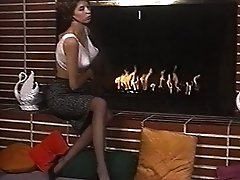 Light My Fire - Antique Stockings Big Orbs Striptease