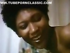 Vintage Horny Ebony Life Model
