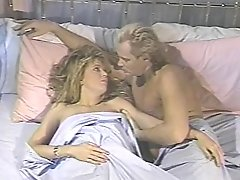 Old School Blonde Porno Queen With Supreme Natural Figure Deepthroats And Fucks In Sofa