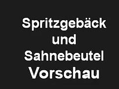 Vintage 70s German - Spritzgebaeck Und Sahnebeutel Trailer - Cc79