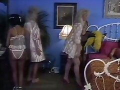 Incredible Black Vintage Scene With Sharon Mitchell And Angel Kelly