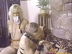 Naughty Dominatrix Has Her Pussy And Her Feet Licked With