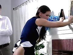 Casey Calvert In Cheerleader Casey Gets Her Ass Hooked And Spanked Hard