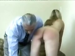 Naughty Novac Sisters Spanked Again