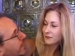 Young Retro Czech Babe Facialized After Cockriding Oldguy Pov