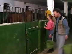 Angelica Bella And Nicolette, Assfucked By A Stud In A Barn
