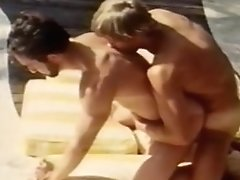Old-school Queer Macho Poolside Fuck-a-thon From Bullet Videopac Two