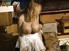 Antique Big Tits Crimson Stockings Blonde Grinding