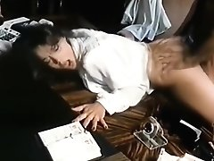 Fucked On The Desk Then A Face Full Of Cum