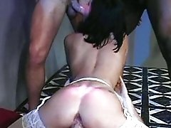Liza Harper - French Lady Group-fucked In Club