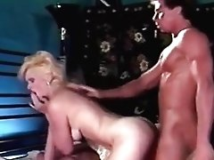 Retro Blonde Shocking And Fuck Abilities