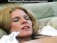 Cris Cassidy, John Leslie In Supert Classic 80's Porn