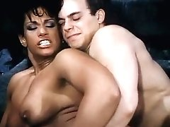 Vanessa Del Rio, Jerry Butler In Hot Black Honey Goes For 80s Pornography Interracial Fuck