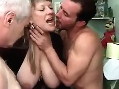 French Mature With Two Folks