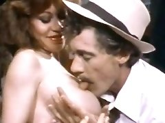 John Holmes, Candy Samples, Uschi Digard In Antique Porno Movie