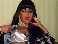 Lady Smoking Lengthy Drills