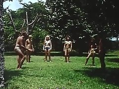 Topless Girls Love Sexy Role Playing (1960s Vintage)
